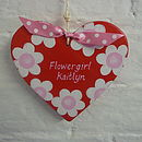 Flowergirl Heart_Cherry Red