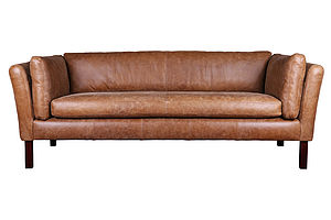 London Leather Sofa Groucho Style Sofa