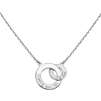 Lover's Personalised Intertwined Necklace