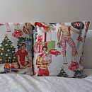 Christmas Pin Up Cushion