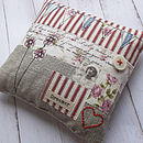 Linen Lavender Pillow