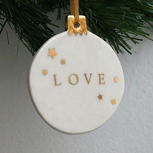 Large Love Bauble
