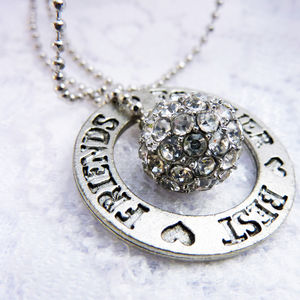 Best Friend Charm Necklaces - necklaces & pendants