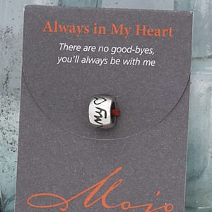 Always In My Heart Mojo Charm Bead - charms