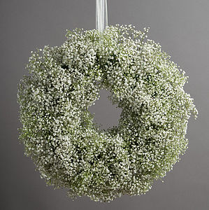Snowball Christmas Wreath