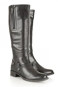 Ravel Monroe Leather Boots - women's fashion