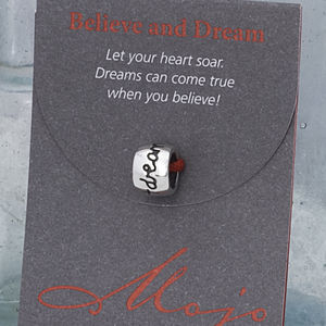 Believe And Dream Silver Mojo - women's jewellery