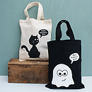Personalised Halloween Shopper Bag