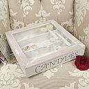 Candles Storage Box