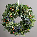 Highland Festive Foliage Wreath
