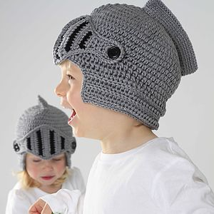 Child's Handmade Knight Helmet Hat - gifts under £25
