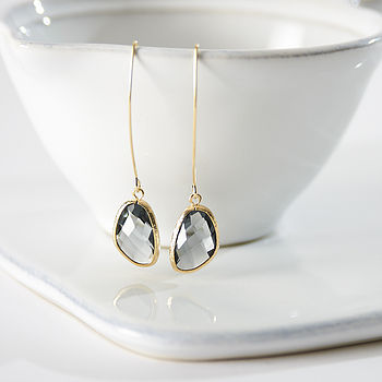 Serenity Long Drop Earrings