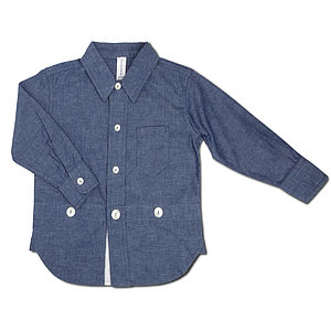 Chambray Vintage Shirt - clothing