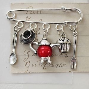Afternoon Tea Brooch