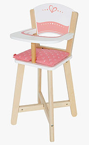 Wooden Toy Highchair