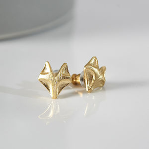 My Mr Fox Earrings - earrings