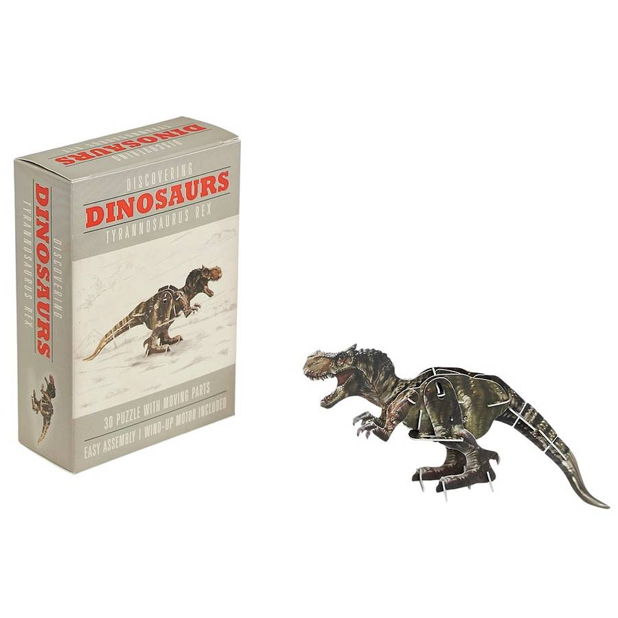 Make Your Own Wind Up Tyrannosaurus Rex