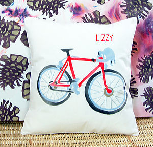 Personalised Bike Cushion - cushions