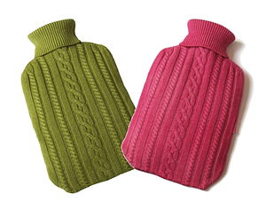 His And Hers Lullilu's Cashmere Gift Set - hot water bottles & covers