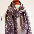 Grey Star Pure Wool Scarf