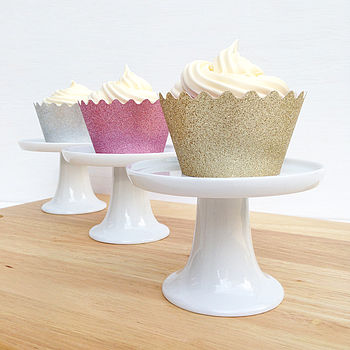 Reusable Sparkly Cupcake Wrappers