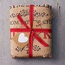 The packed Ampleforth Personalised Christmas Sack