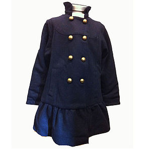 Sora Girl's Coat - clothing