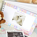 Personalised Baby Shower Book