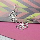 Gaze Butterfly Earrings