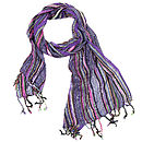 Purple Ladies Woven Scarf