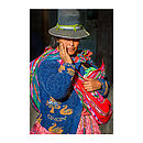 Cusco Woman One, Peru Print