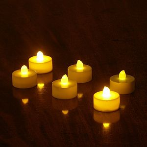 Battery Operated Night Lights - candles