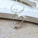 Girls Personalised Secret Heart Necklace