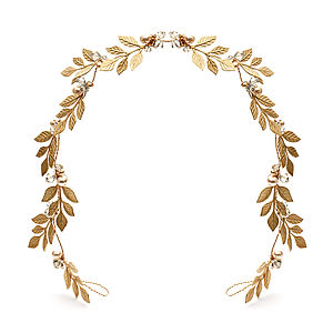 Golden Laurel Leaf Wreath - hats, hairpieces & hair clips