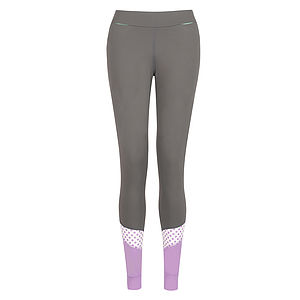 Hertford Dotty Polka Flash Tight - lounge & activewear