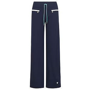 Pemberton Old School Sporty Wide Leg Pant - women's fashion