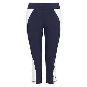 Pemberton Old School Sporty Crop Legging - women's fashion