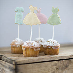 Set Of Four Bridesmaid Cookies - cakes & treats