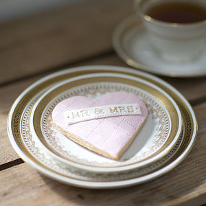 Mr And Mrs Cookie - wedding favours