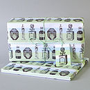 Two Sheets Of Parfum Print Wrapping Paper