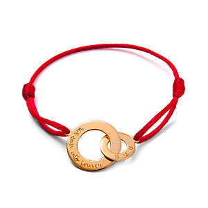 Lover's Gold Plated Intertwined Bracelet - bracelets & bangles