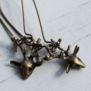 Baby Stag Earrings