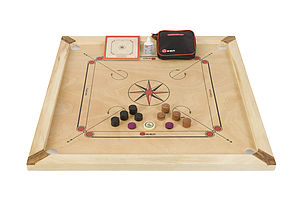 Carrom Set - cars & trains