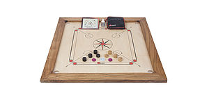 Tournament Carrom Set - traditional toys & games