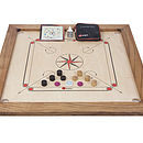 Tournament Carrom Set