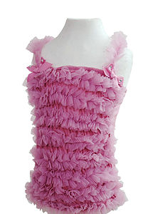 Wild Rose Ruffle Pettiskirt Top - clothing