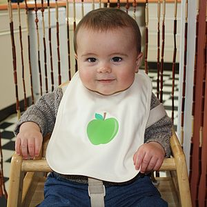 Set Of Three Organic Cotton 'Fruity' Bibs - baby care