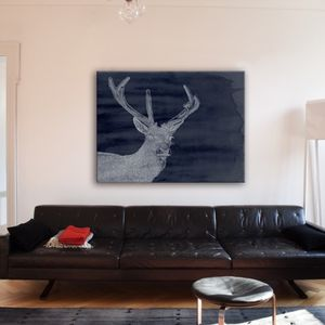 Deer Canvas - art & pictures