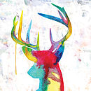 Oh Deer - Multicoloured