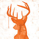 Oh Deer - Orange